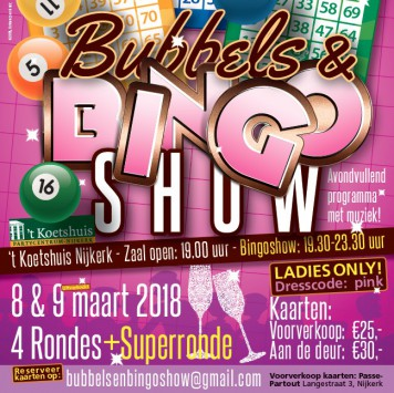 Bubbels & Bingoshow