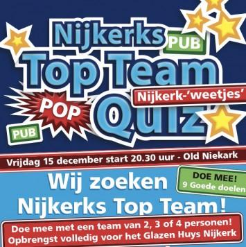 Top Team Quiz voor het Glazen Huys Nijkerk